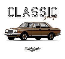 Mercedes-Benz E-klass (W123) (brown) Photographic Print