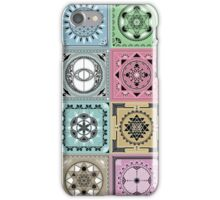 SACRED GEOMETRY - ARCHITECTURE OF THE UNIVERSE iPhone Case/Skin