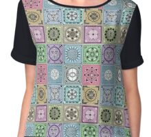 SACRED GEOMETRY - ARCHITECTURE OF THE UNIVERSE Chiffon Top