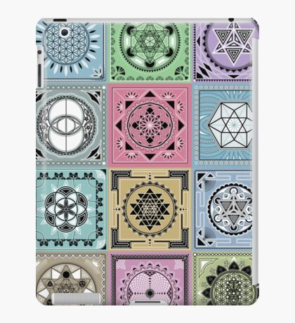 SACRED GEOMETRY - ARCHITECTURE OF THE UNIVERSE iPad Case/Skin