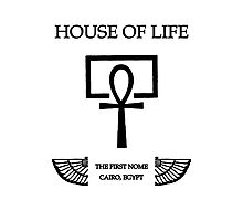 House of Life, Cairo Nome Photographic Print