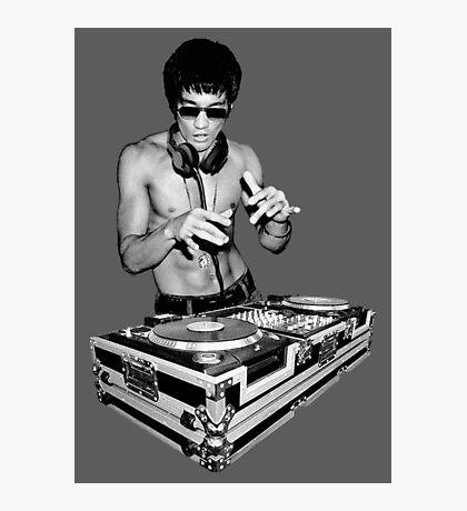 DJ Kung Fu Photographic Print