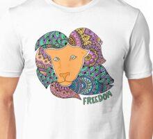 Freedom Lion (Large) Unisex T-Shirt