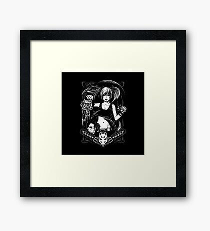 Lady Killer Framed Print