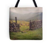 Nevis Mountian range Tote Bag