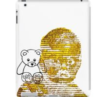 Forlorn Child and the Lost Teddy Bear   iPad Case/Skin