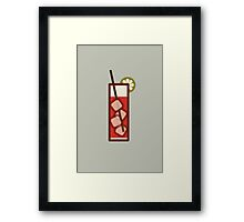 Mixed - Icon Prints: Drinks Series Framed Print