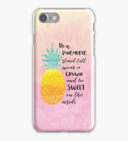 Be a Pineapple iPhone Case/Skin