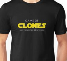 Game Of Clones - May The Winter Be With You Star Game Wars Unisex T-Shirt