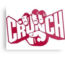 crunch Metal Print