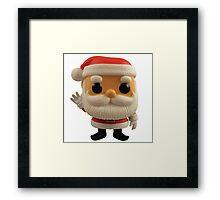 Little Santa Framed Print
