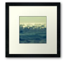 blurred light Framed Print