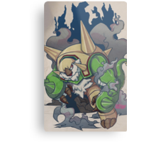 Chesnaught Like a Boss Metal Print