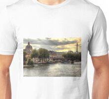 The Colours Of Paris In HDR - Version 2 ©  Unisex T-Shirt