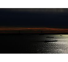 Sunset at noon.  Photographic Print