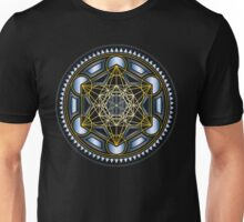 SACRED GEOMETRY - METATRONS CUBE - FLOWER OF LIFE - SPIRITUALITY - YOGA - MEDITATION Unisex T-Shirt
