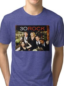 30 LIZ LEMON ROCK  Tri-blend T-Shirt