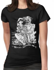 Suehiro Maruo - Worm Ghost Womens Fitted T-Shirt