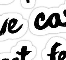 1 John 4:18 Sticker