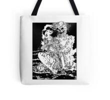 Suehiro Maruo - Ghost Worm White Ed. Tote Bag