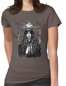 Dark Lady Womens Fitted T-Shirt