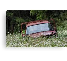 Abandoned Vehicle #1 Canvas Print