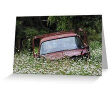 Abandoned Vehicle #1 Greeting Card