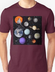 She's cleaning Uranus T-Shirt