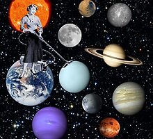 She's cleaning Uranus by TRASH RIOT