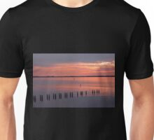 Nocturnal Paddle Boarder Departs Unisex T-Shirt