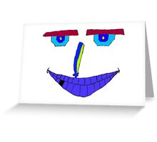 Mr Linguine (Small) Greeting Card