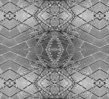 Black and White Geometry Sticker
