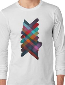 Ordered color explosion Long Sleeve T-Shirt