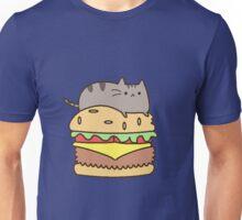 eat cat burguer Unisex T-Shirt