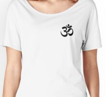 Om Yoga Symbol Women's Relaxed Fit T-Shirt