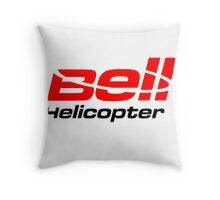 BELL HELICOPTER TEXTRON Throw Pillow