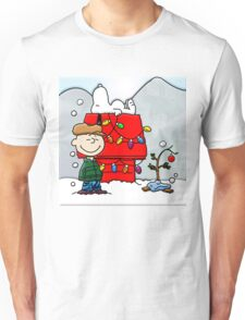 CHARLIE BROWN CHRISTMAS 1 Unisex T-Shirt