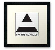 ECHELON Framed Print