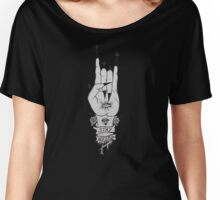 Stay Weird - Hand of the wise Women's Relaxed Fit T-Shirt