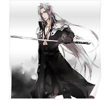 Sephiroth Sword Poster