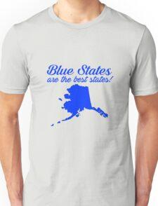 Blue Best Alaska State Democrat Election 2016 T-Shirt Unisex T-Shirt