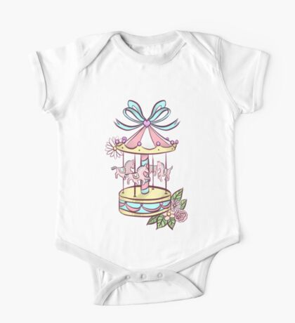 Toy Carousel One Piece - Short Sleeve