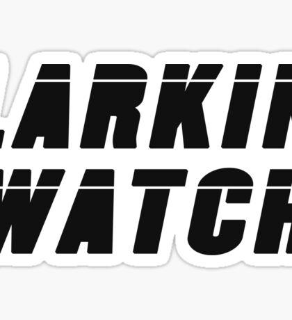 Larkin Watch (Black) - Critical Role Fan Design Sticker