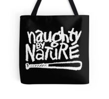 Naughty by Nature (white) Tote Bag