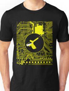 Cybergoth - Syringe (yellow) Unisex T-Shirt