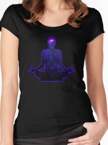 Meditation Women's Fitted Scoop T-Shirt