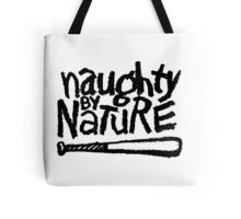 Naughty by Nature (black) Tote Bag