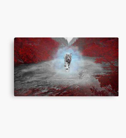 Mystical Tiger - Fantasy Artwork Canvas Print