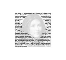 Firefly Quotes - Kaylee Frye Photographic Print