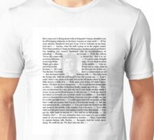 Firefly Quotes - Malcolm Reynolds - 1 Unisex T-Shirt